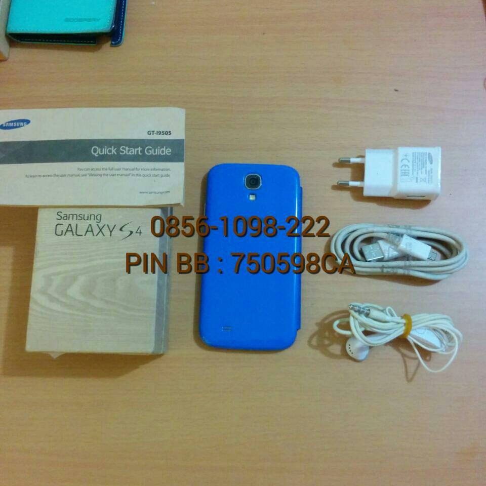 WTS : SAMSUNG GALAXY S4 (GT-I9505) SECOND VERSI 4G(LTE). KONDISI MULUS; FULLSET