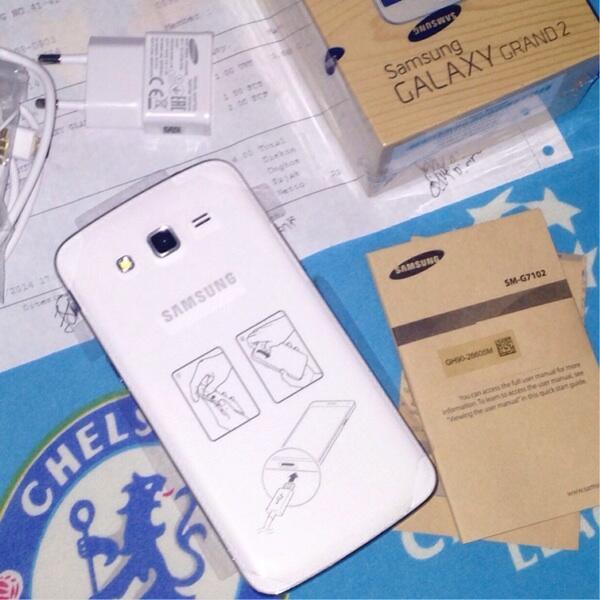 [WTS] Samsung Galaxy Grand 2 SM-G7102 White Putih SEIN