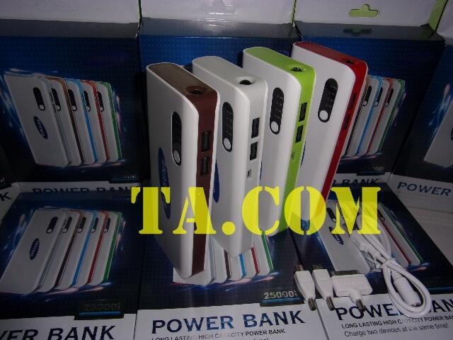[TA] PowerBank SAMSUNG 25.000mAH Bergaransi {Semarang}