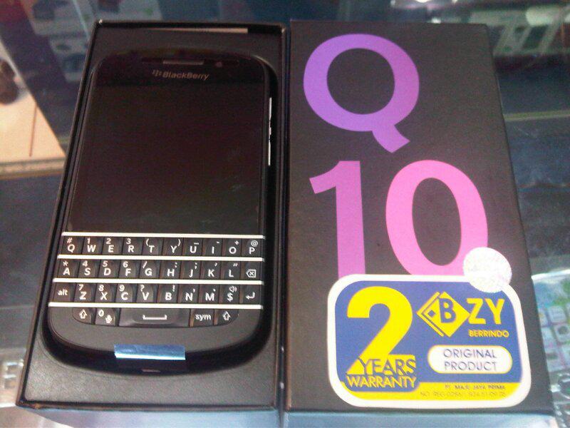 Blackberry Q10 bisa kredit proses cepat dan mudah
