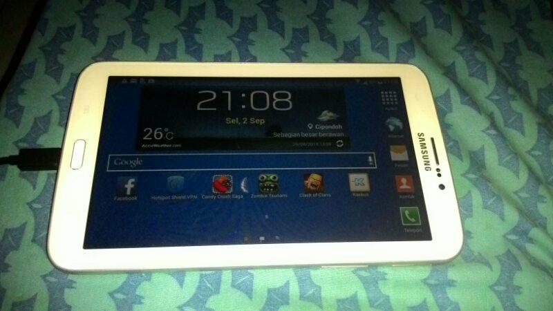 "Jual Galaxy Tab 3 7"" 3G+WIFI WHITE"
