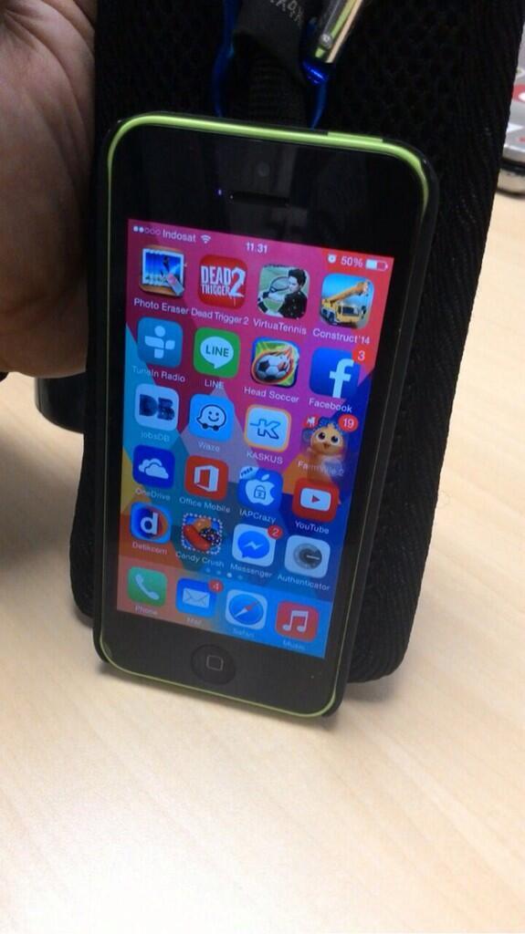 Iphone 5c 16GB Green/Hijau