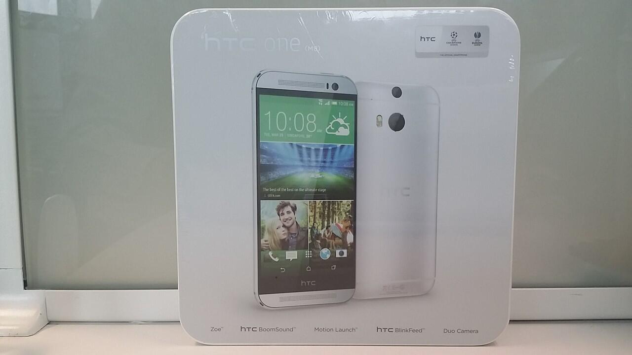 HTC One M8 Resmi Indonesia BNIB/New/Segel
