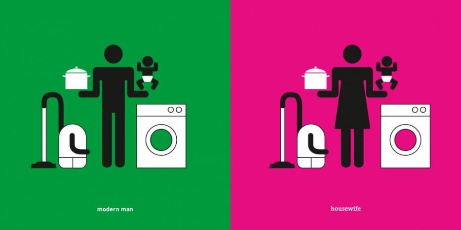 [Pictogram] Perbedaan Sederhana Antara Laki-laki dan Wanita