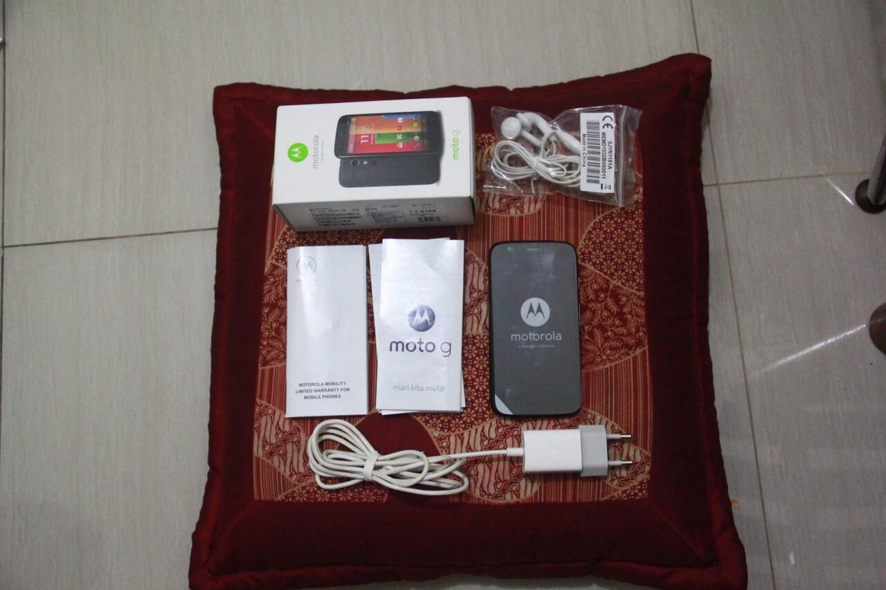 [UPDATE] Motorola Moto G 8GB 2ND FULLSET MURAH COD SOLO