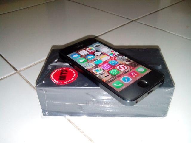 iphone 5 FU black mulus istimewa (semarang)