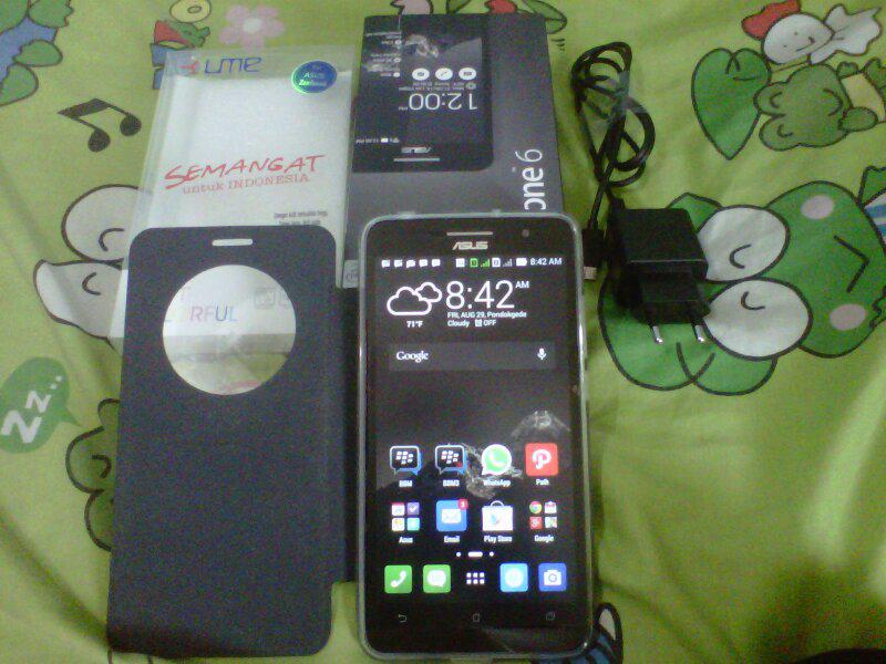 Asus Zenfone 6 Black TAM Pemakaian 7 Hari
