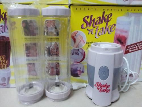 SHAKE AND TAKE BLEND AND GO 2IN1 DOUBLE CUP