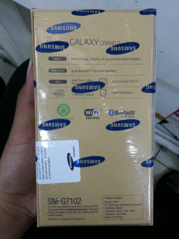 Galaxy Grand 2 (BNIB) / Garansi resmi Samsung (SEIN) 1 th