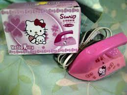 SETRIKA MINI HELLO KITTY