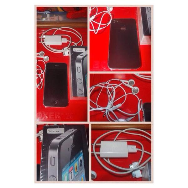iphone 4g 16gb FU GSM komplit depok