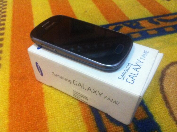 Samsung Galaxy Fame Lengkap Mulus