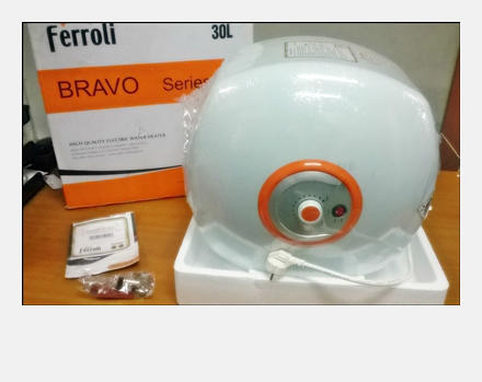 water heater pemanas air merk italy ferroli