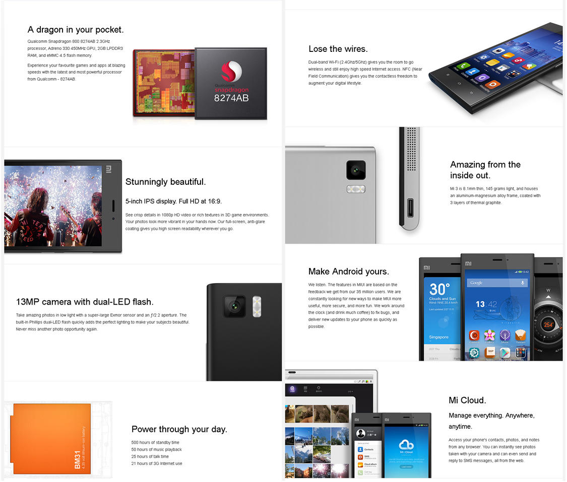 [ OFFICIAL LOUNGE ] XIAOMI MI3 USER | ACCELERATE YOUR LIFE |