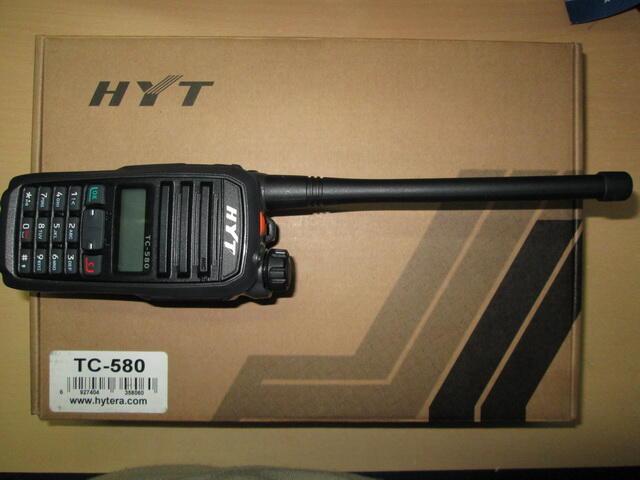 Handy Talky HYT TC-580 NEW ORI