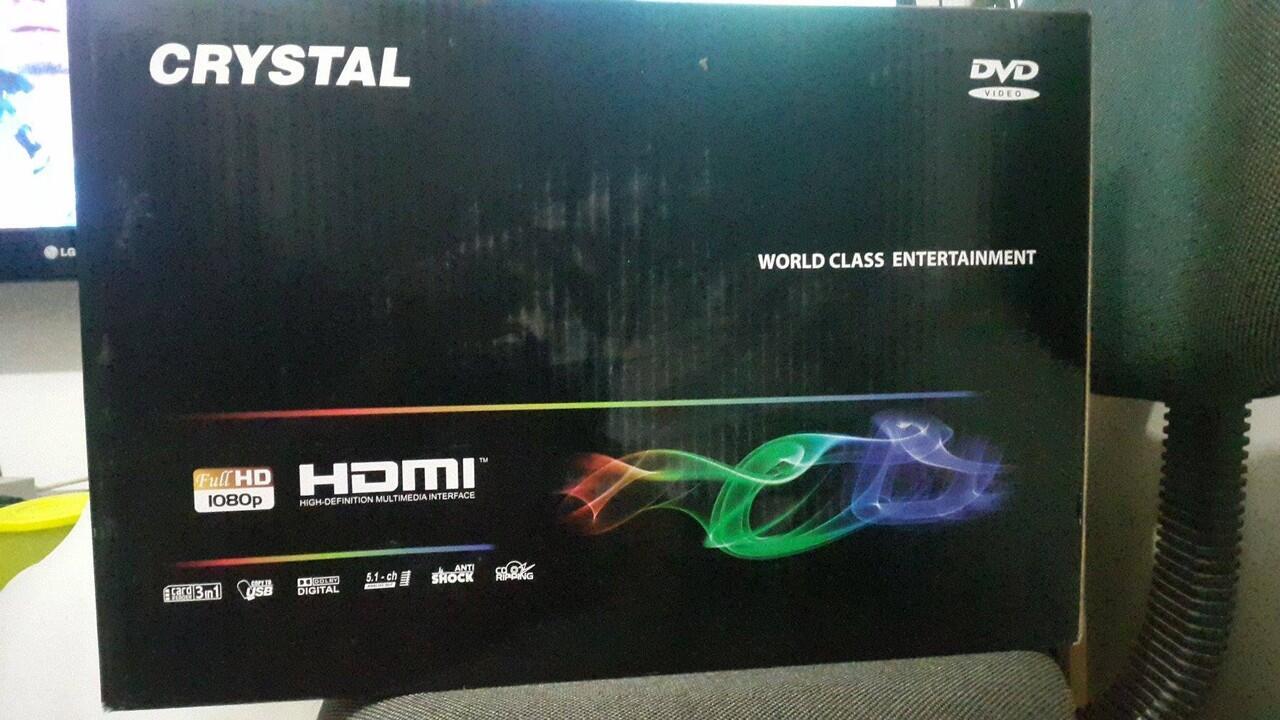 dvd crystal hdmi 905 baru