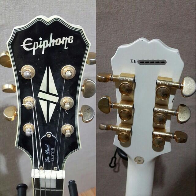 Jual Gitar Epiphone Alphine White ORIGINAL 2nd