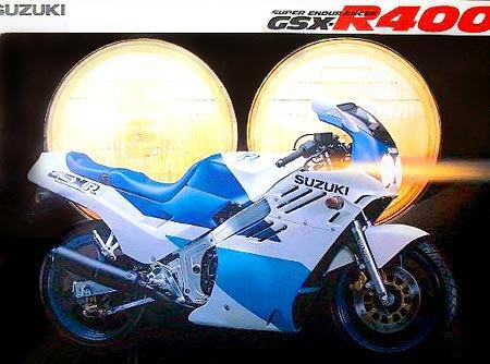 Engine GSX R 400cc - Mesin Moge Suzuki GSX R 400cc