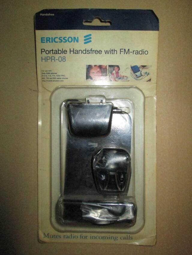jual handsfree radio buat ericsson paus R250 (HPR-08), original