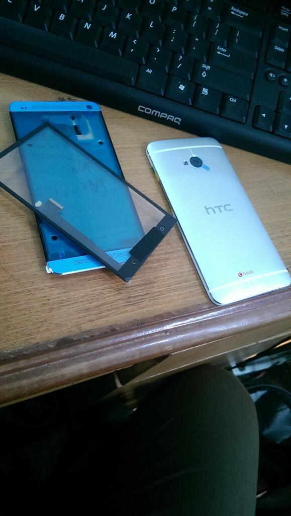 Full Housing HTC one M7 + Digitizer