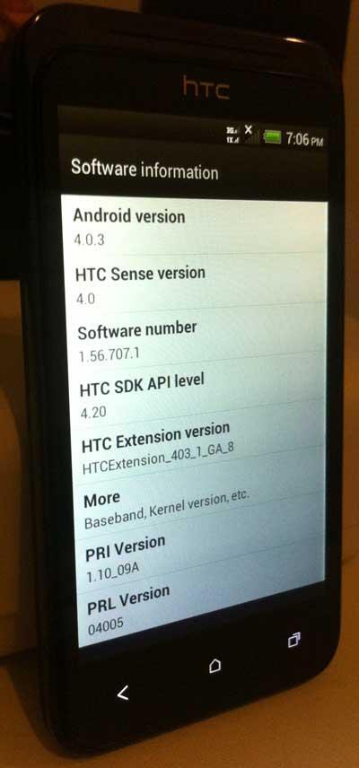 JUAL HTC Desire VC Hitam (Dual On GSM-CDMA)