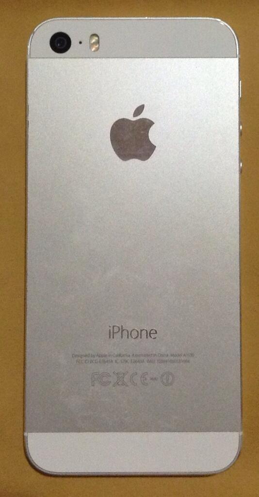 [SELL] iPhone 5s white 16gb lengkap garansi 2015 good condition