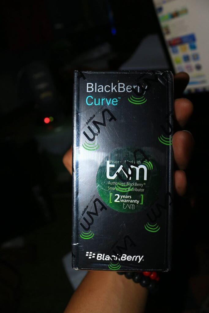 [WTS] DAVIS 9220 blackberry NEW !! JOGJA!!