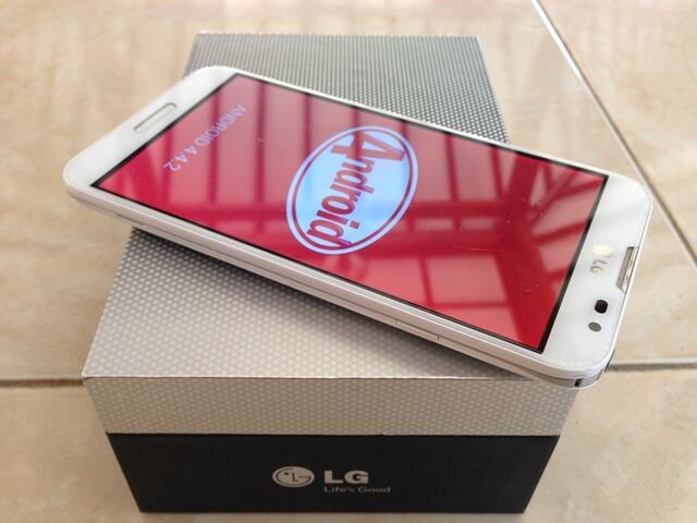 LG Optimus G Pro F240 Korean Version 32Gb White & Black fullset mulus murah!