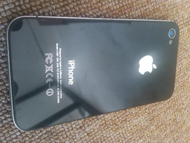 iPhone 4s Verizon 16gb Black Mulus Fullset + RSim 9 Pro