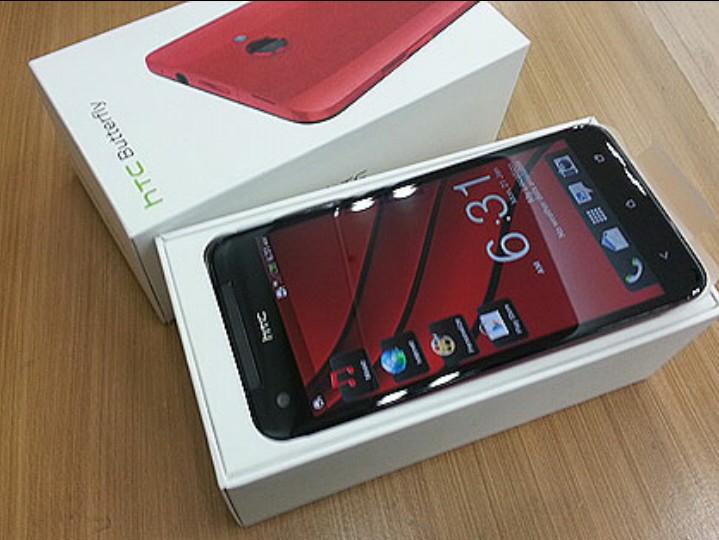 DIJUAL CEPAT MURAH!! 2 NEW HTC BUTTERFLY (RED)