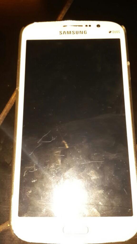 Samsung Galaxy Mega 5.8 White Bonus Hard N Soft Case ex Cewe