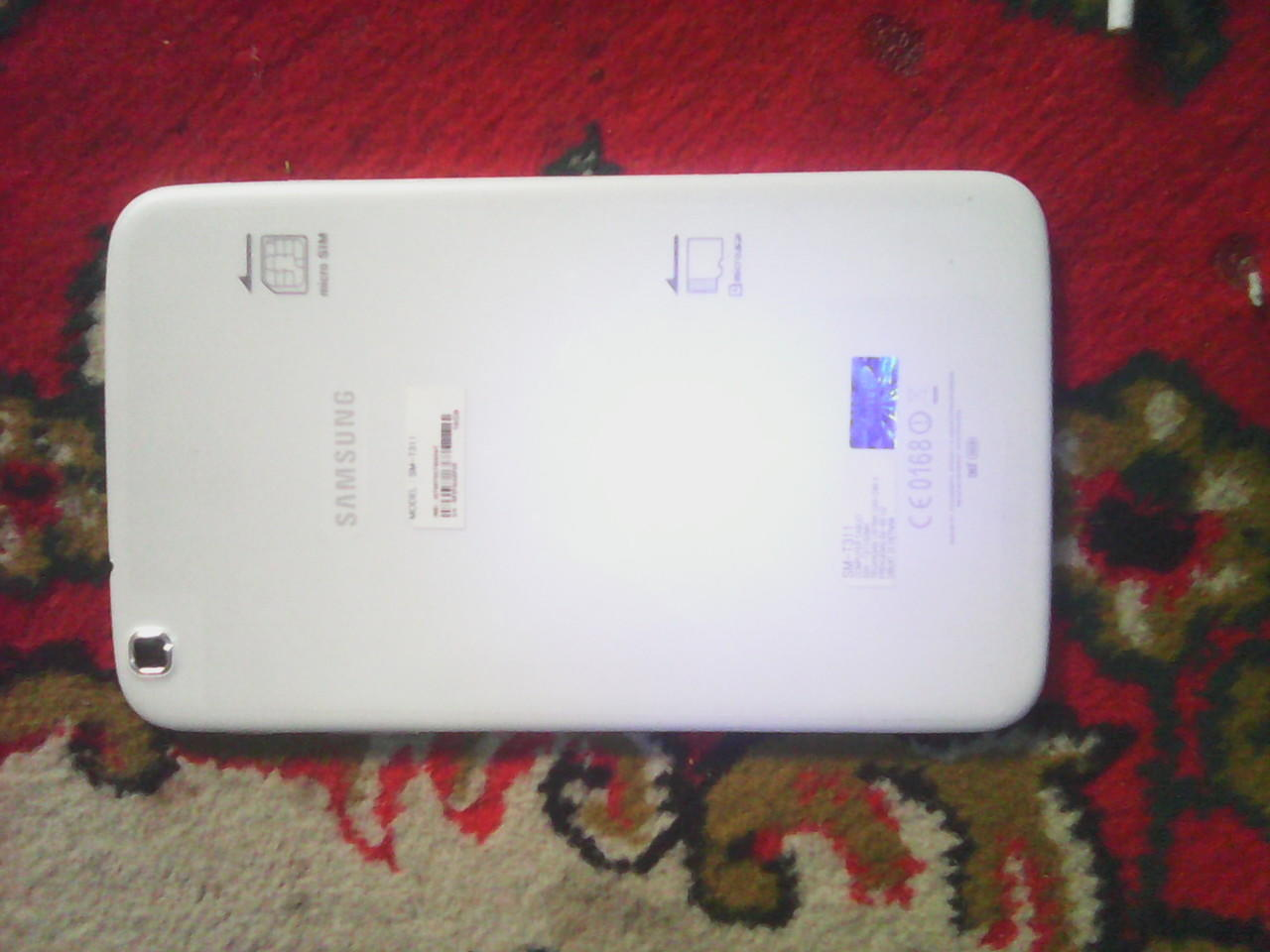 """Samsung Galaxy Tab 3 - 8"""" T311 white mulus 95% SEIN bisa barter / Tuker Tambah"""
