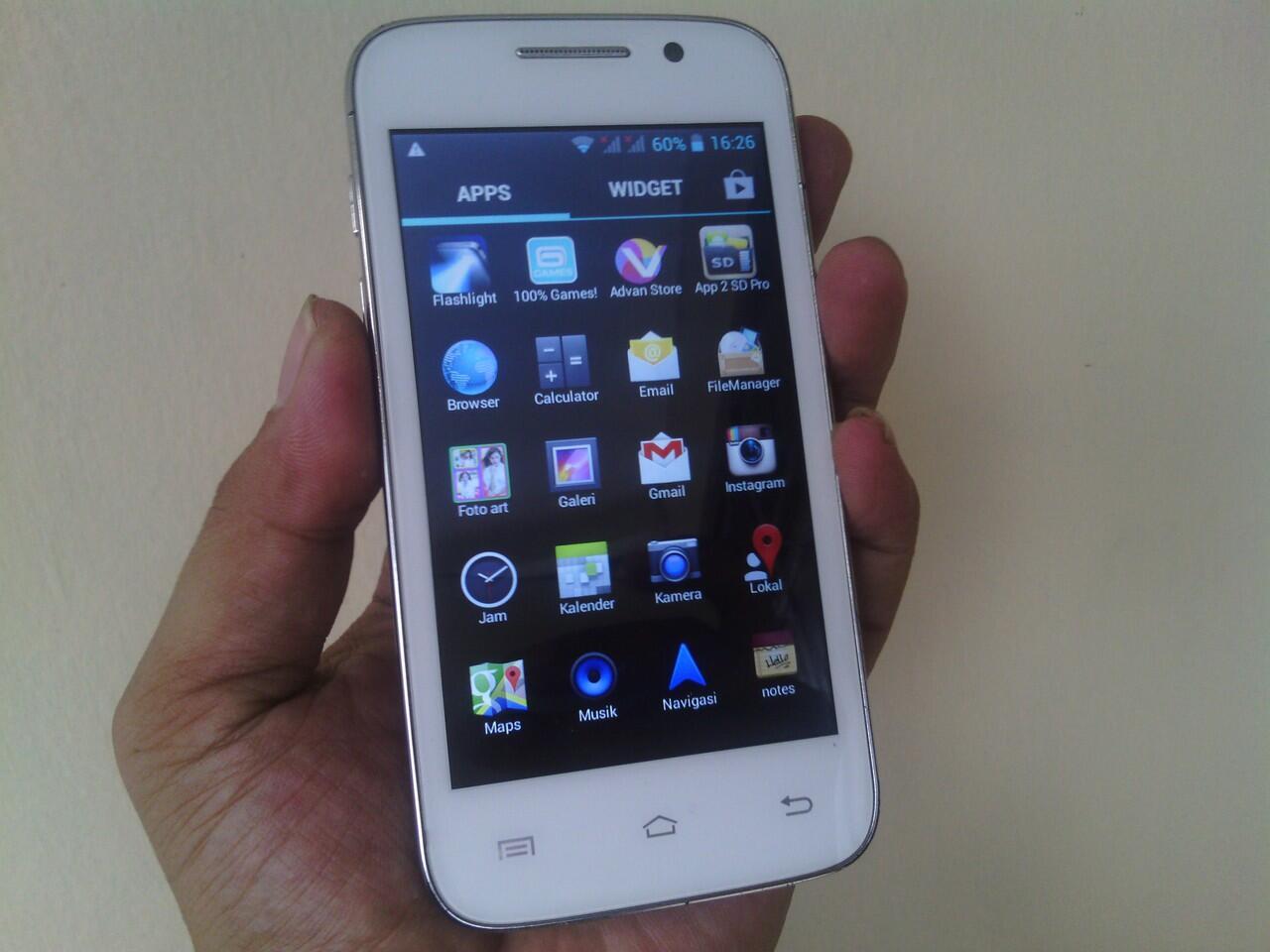 HP ADVAN S4 ( OS JELLY BEAN + 2 GSM ON + TV ANALOG ) ... MURAH TAWAR SESUKAMU GAN