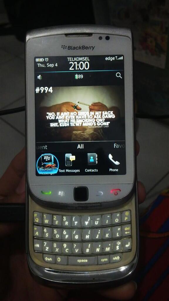 Cepat Blackberry Torch1 9800 Hp+ Charger. Pamulang/BSD