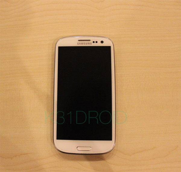 Samsung Galaxy S3 White Marble Mulus