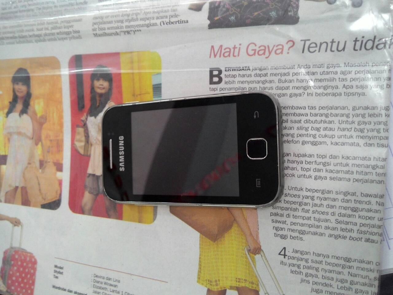Samsung Galaxy Young 1 S5360 Fullset Segel BEST OFFER (Bandung)