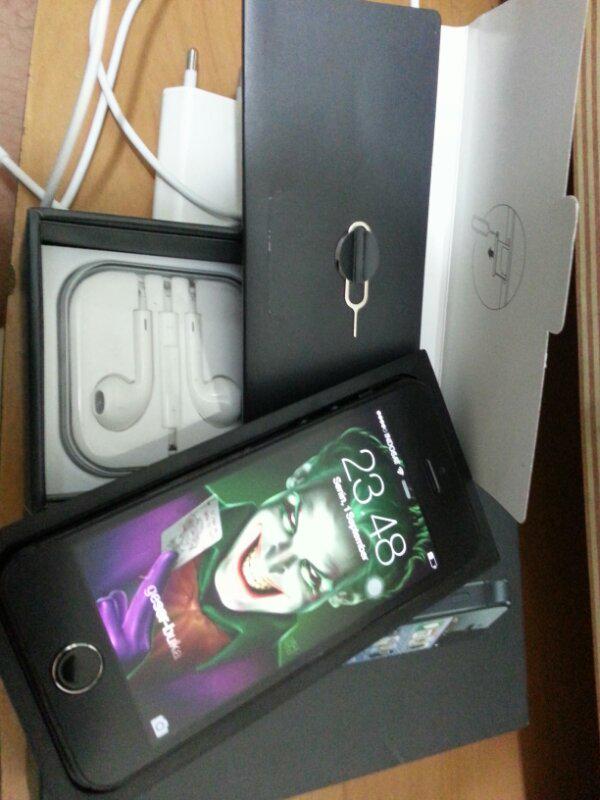 iphone 5 black 16GB FU harga suka-suka lo...