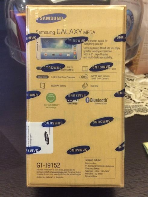 "Samsung Galaxy Mega 5.8"". Brand New in Sealed Box! MURAHH!!"