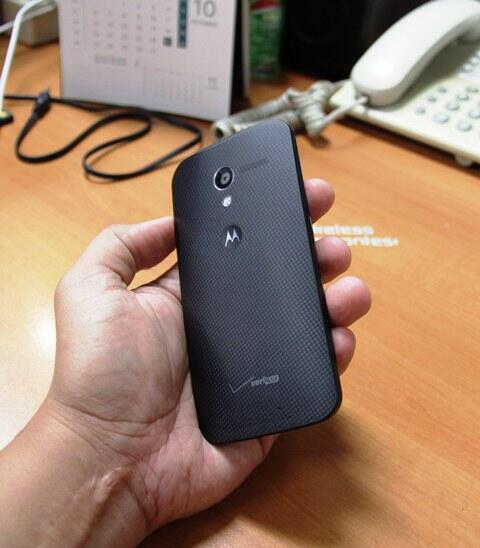 Motorola Moto X 16Gb XT1060 Verizon Hitam GSM-CDMA Fullset Mulus