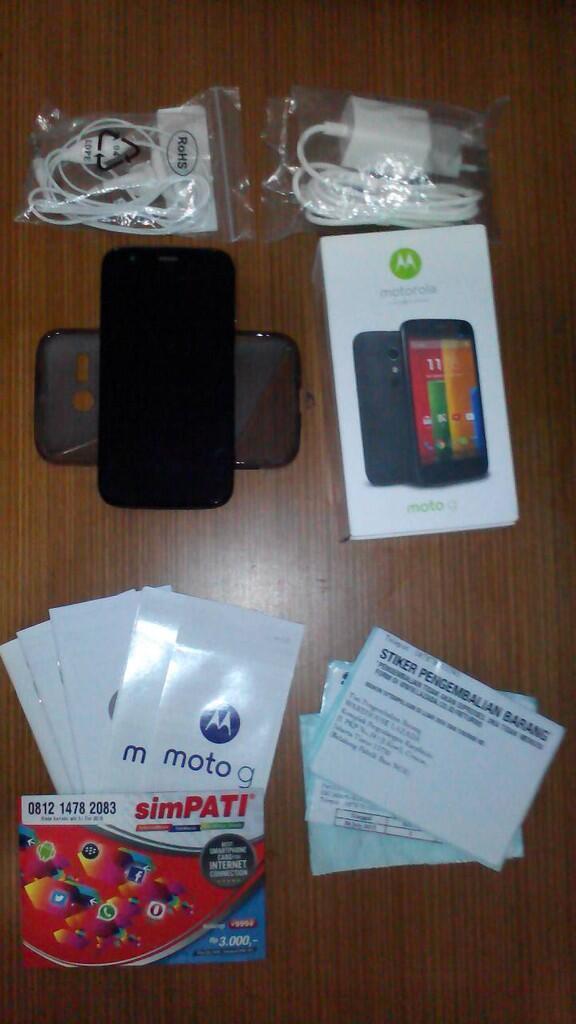Motorola Moto G KITKAT 4.4.4 Mulus 98% + Bonus
