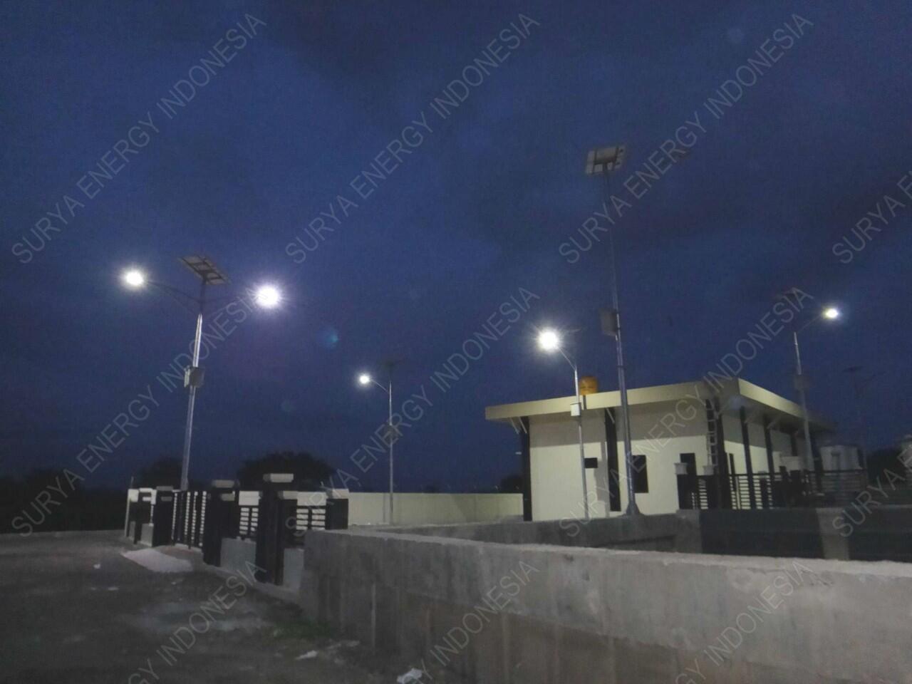 Pabrikasi PJU (Penerangan Jalan Umum) Tenaga Surya