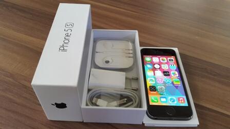 WTS iPhone 5s 16GB Space Gray Fullset Mulus COD Balikpapan