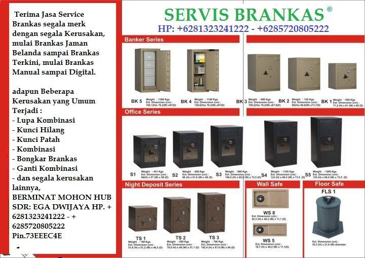 service brankas semua merek