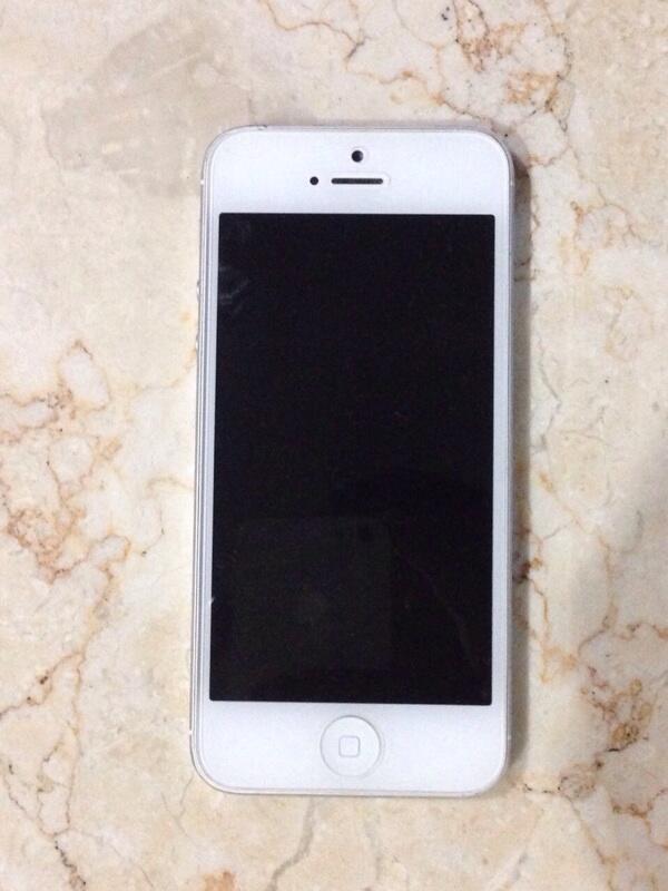 Jual Iphone 5 (32Gb) White