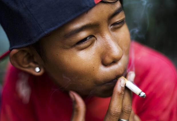Potret pengaruh rokok di kalangan anak-anak Indonesia