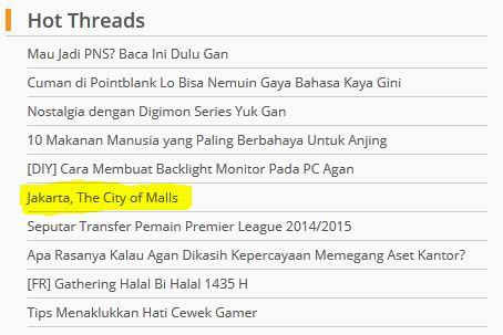 "Lima fakta menarik seputar Jakarta, ""The City of Malls"" [Bonus Infografis]"