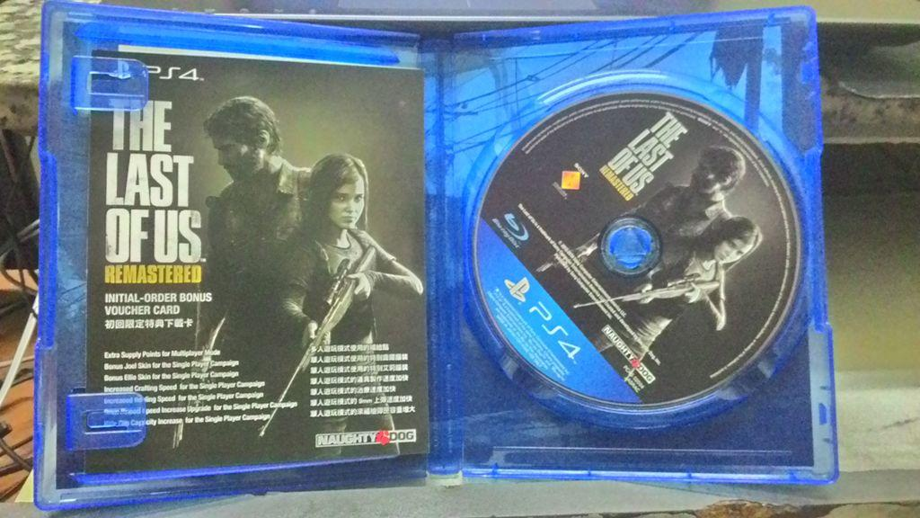 [PS4 BD] The Last Of Us Remastered - DAY 1 / DLC Utuh