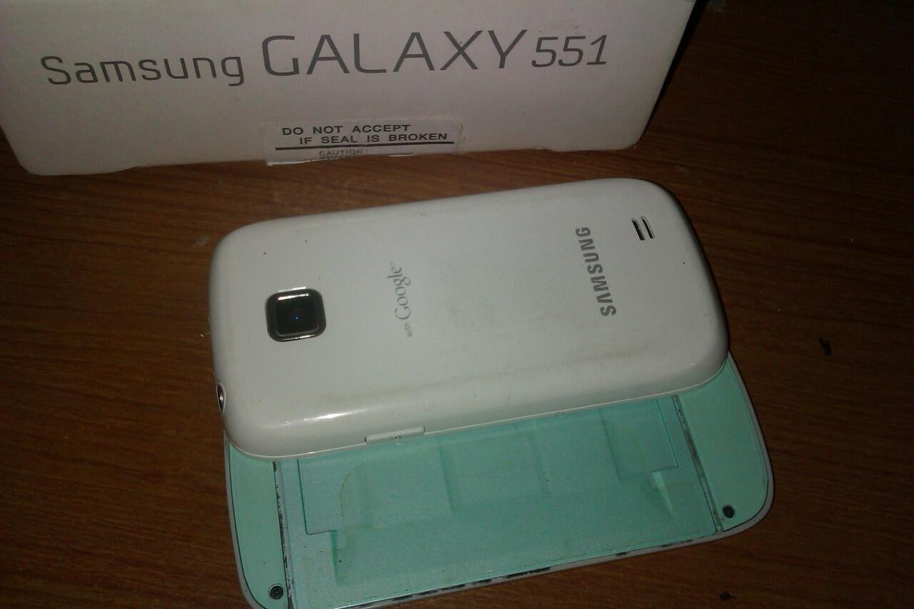samsung galaxy 551 gt-i5510 aka callisto bandung