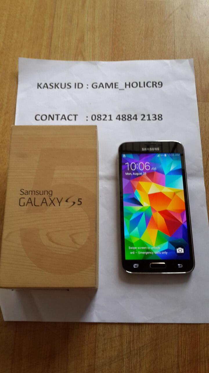 Galaxy S5 Black Jual Kilat Harga Galau