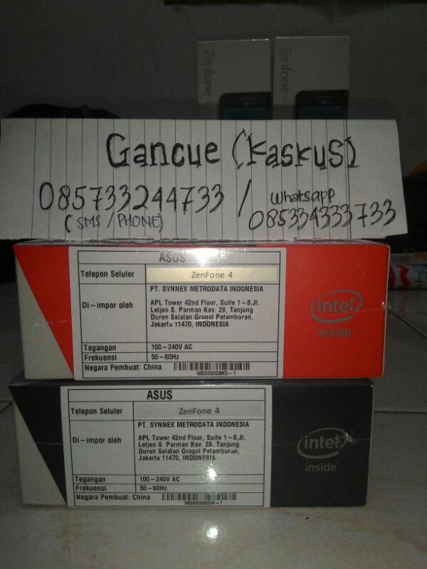 Ready Zenfone 4 baterai 1600mah (COD/Rekber monggo) Murah garansi 1th Metrodata